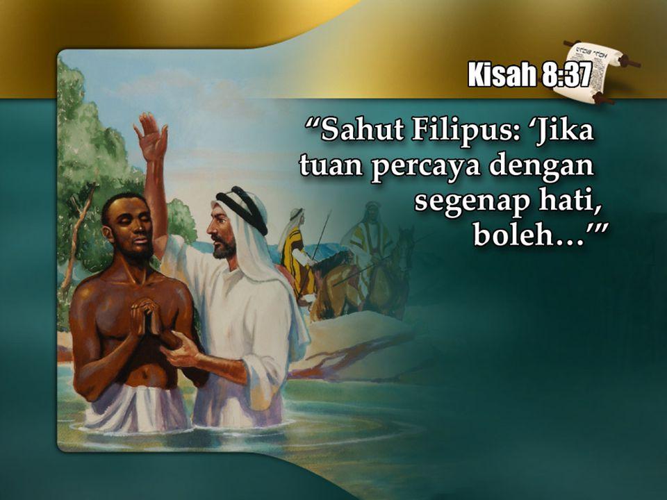 Setelah anda bertobat dari dosa.