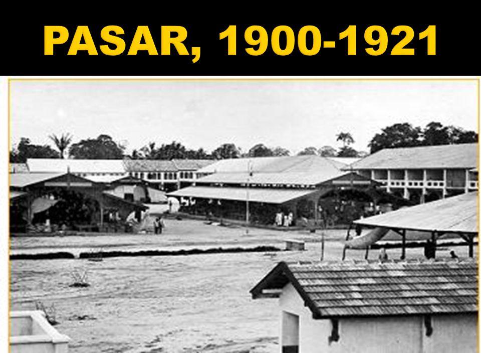 PASAR, 1900-1921