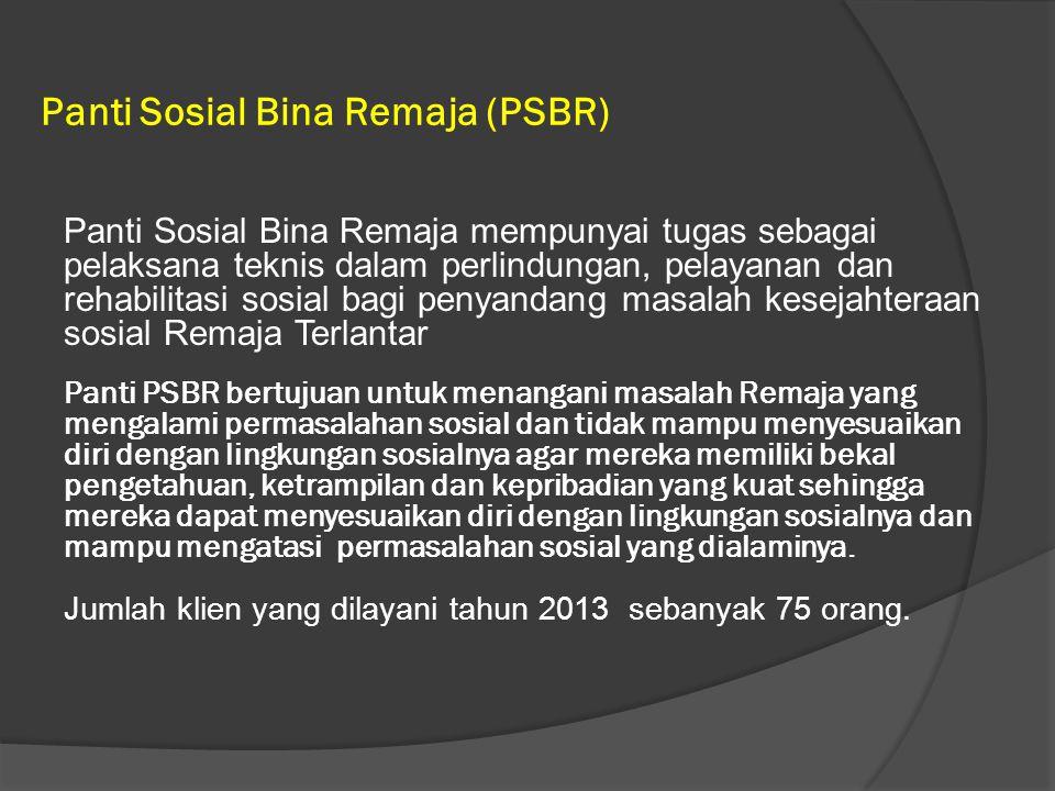 Panti Sosial Bina Remaja (PSBR)