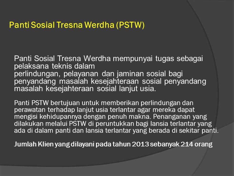 Panti Sosial Tresna Werdha (PSTW)