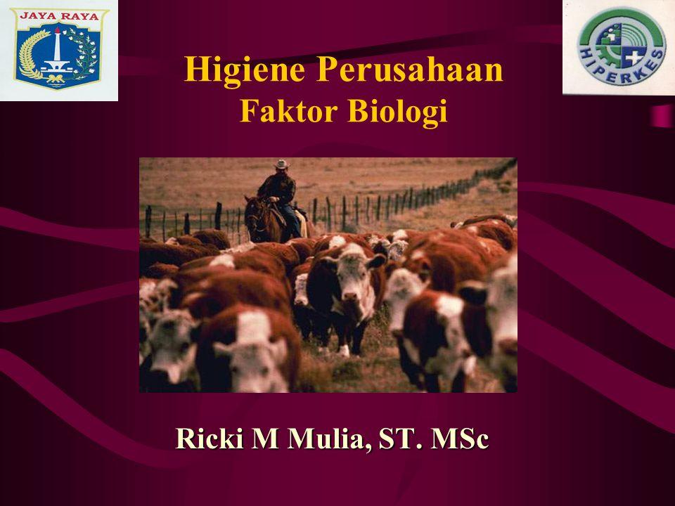 Higiene Perusahaan Faktor Biologi