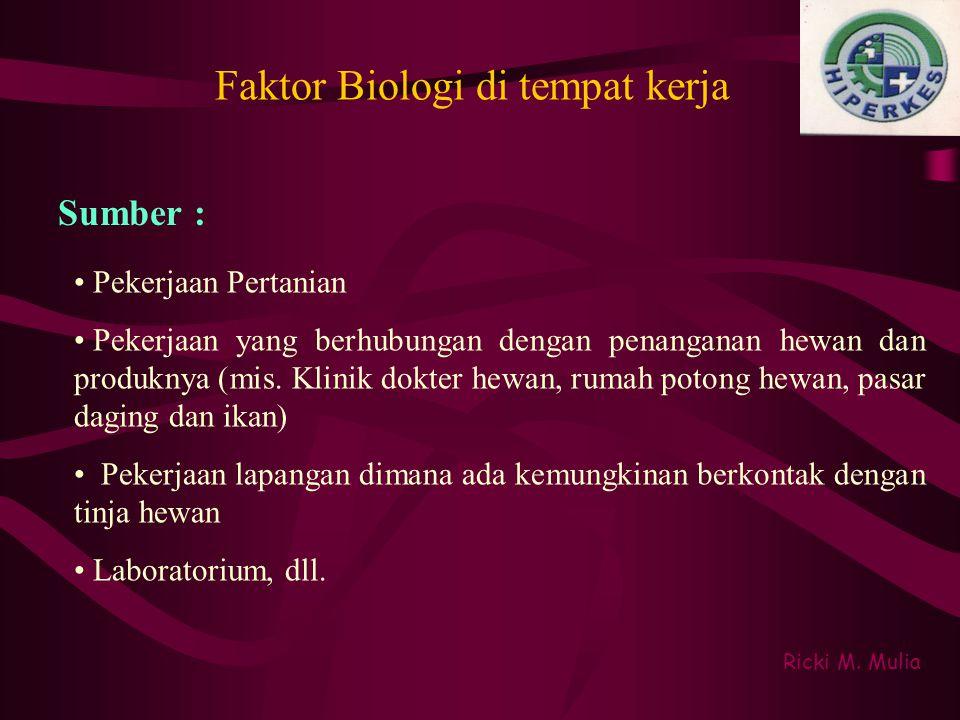 Faktor Biologi di tempat kerja