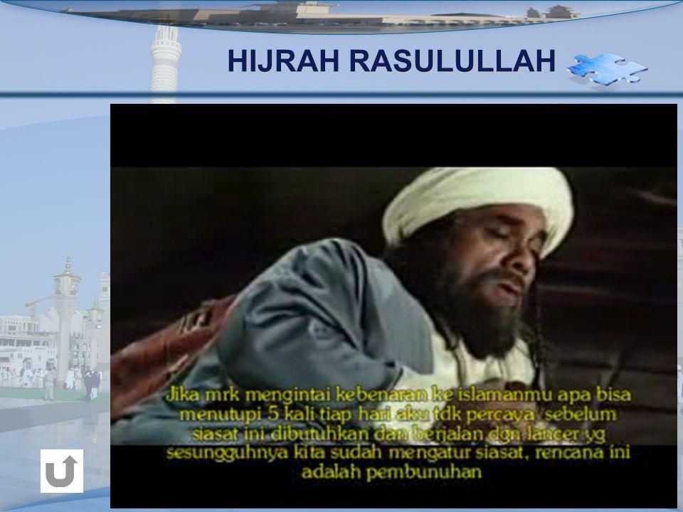 HIJRAH RASULULLAH
