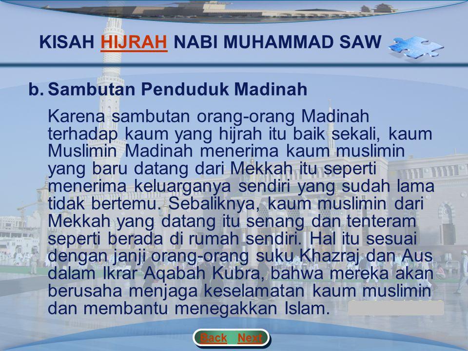 KISAH HIJRAH NABI MUHAMMAD SAW