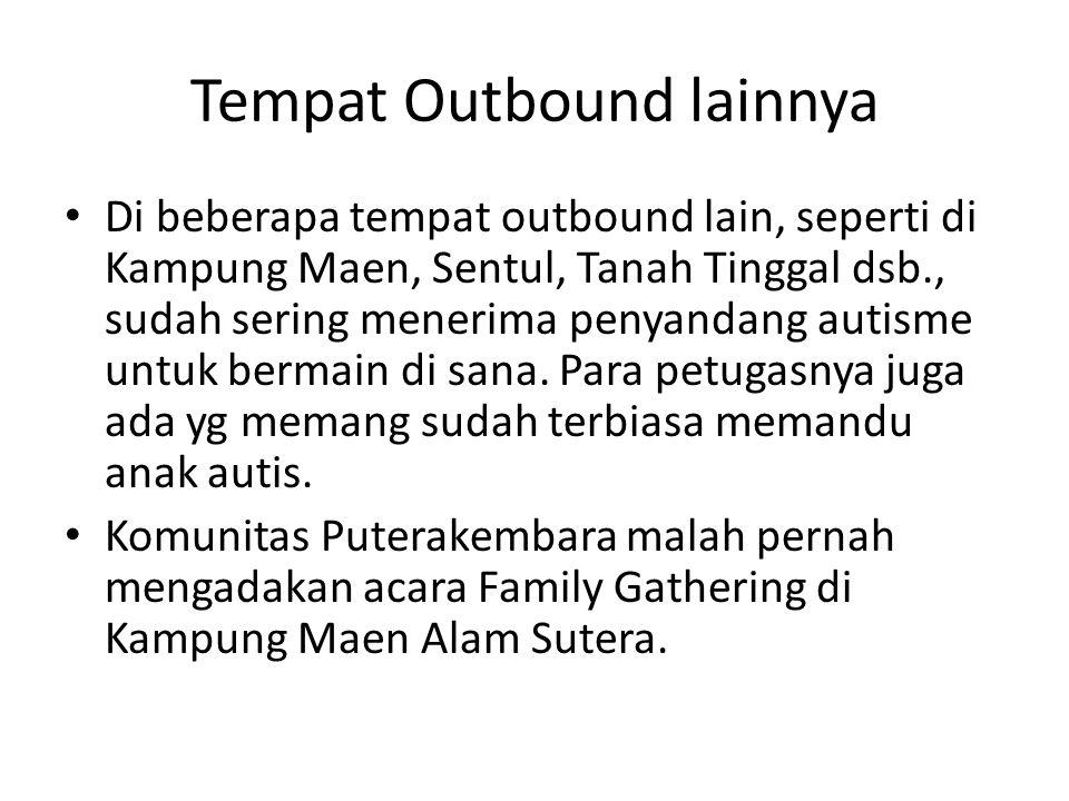 Tempat Outbound lainnya