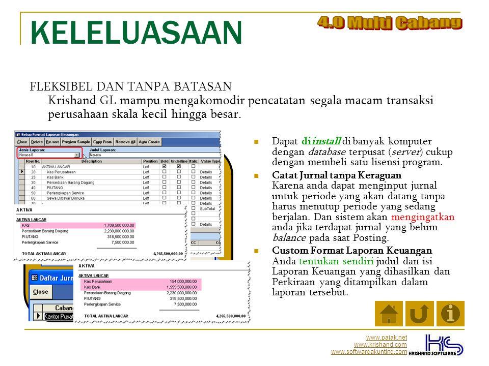 KELELUASAAN 4.0 Multi Cabang