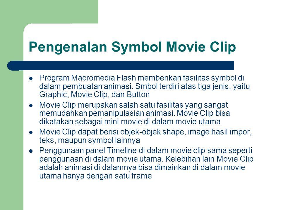 Pengenalan Symbol Movie Clip