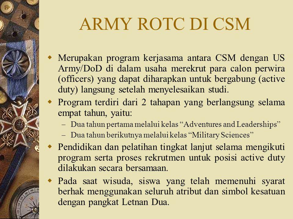 ARMY ROTC DI CSM