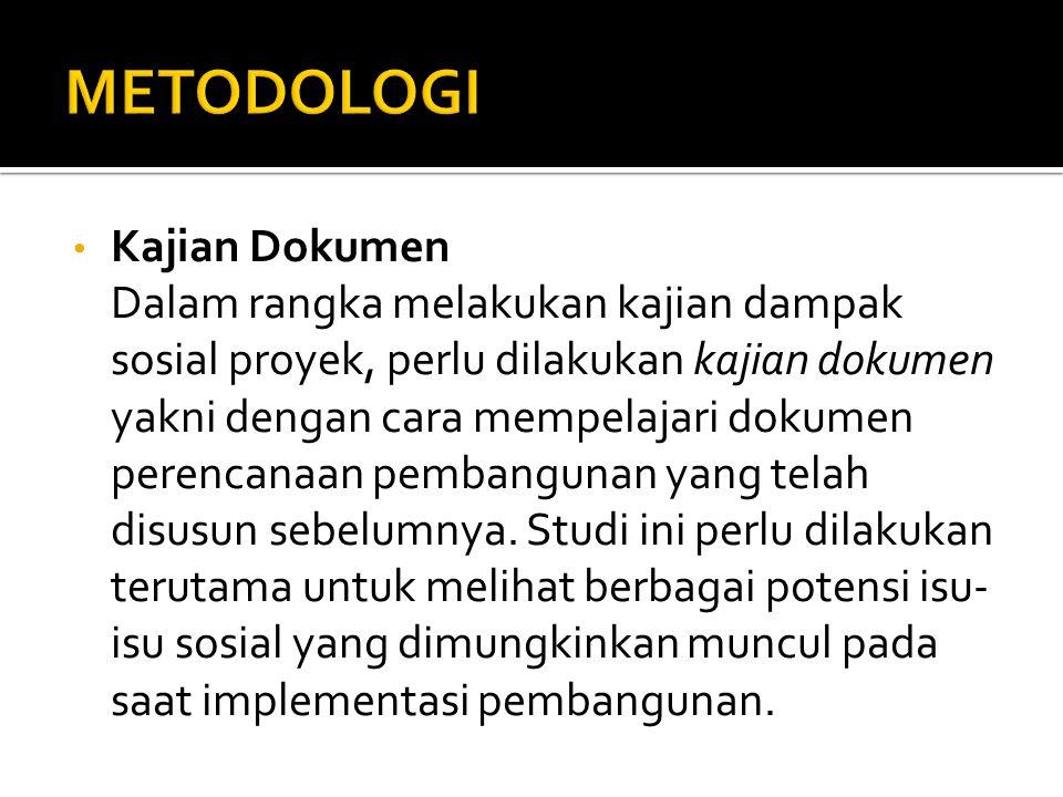 Metodologi Kajian Dokumen