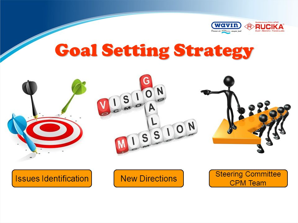 Goal Setting Strategy Issues Identification New Directions