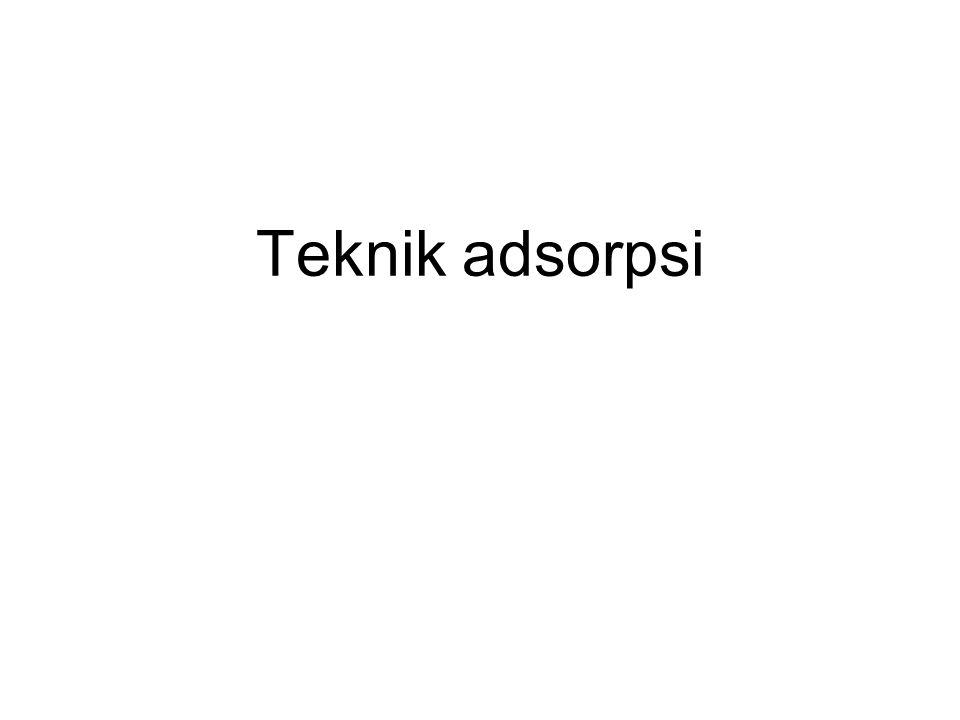 Teknik adsorpsi