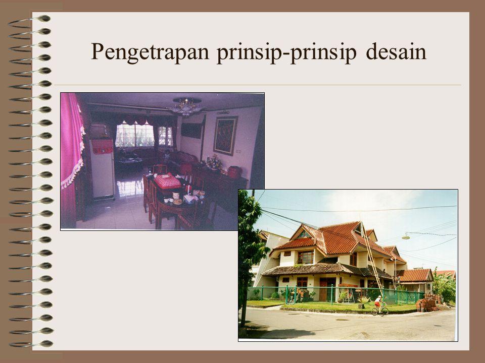 Pengetrapan prinsip-prinsip desain