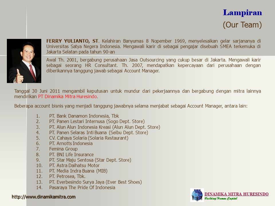 Lampiran (Our Team)