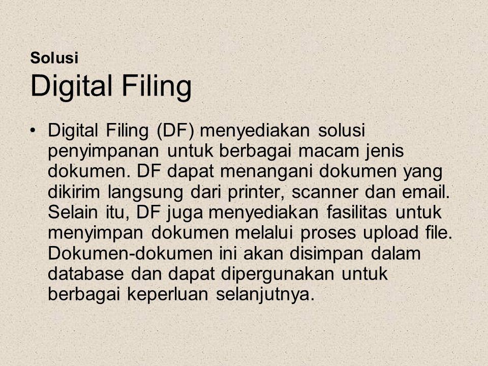 Solusi Digital Filing
