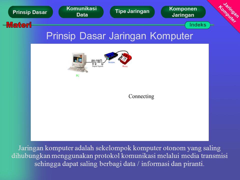 Prinsip Dasar Jaringan Komputer