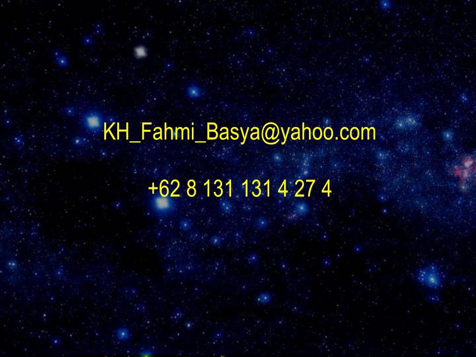 KH_Fahmi_Basya@yahoo.com +62 8 131 131 4 27 4