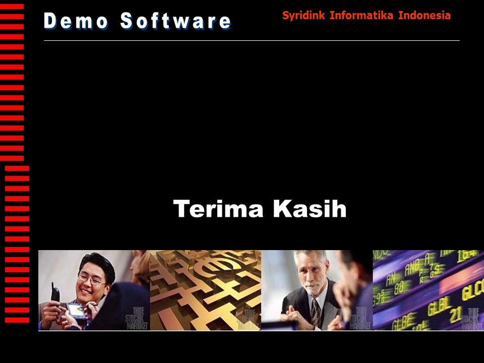 Demo Software Terima Kasih