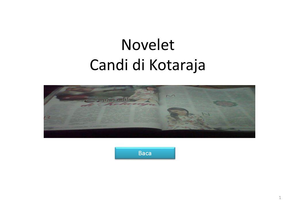 Novelet Candi di Kotaraja