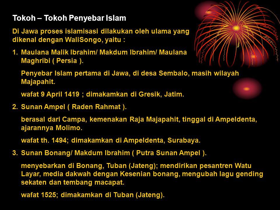 Tokoh – Tokoh Penyebar Islam