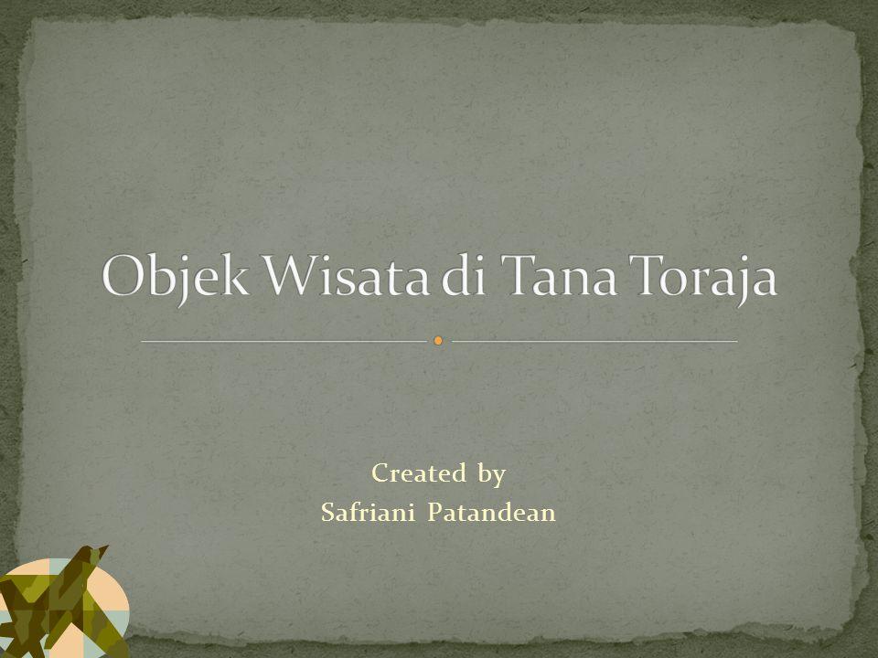 Objek Wisata di Tana Toraja