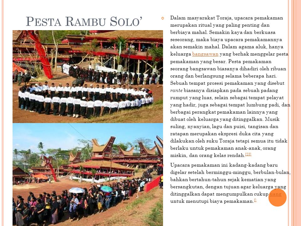 Pesta Rambu Solo'