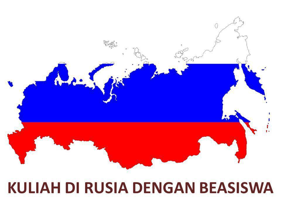 KULIAH DI RUSIA DENGAN BEASISWA