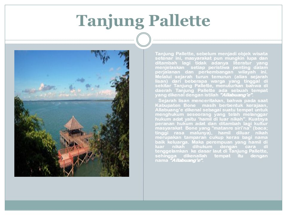 Tanjung Pallette