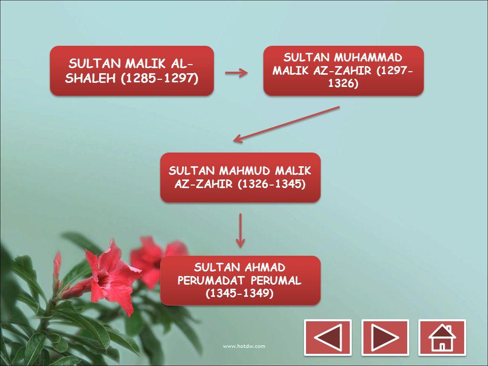 SULTAN MALIK AL-SHALEH (1285-1297)