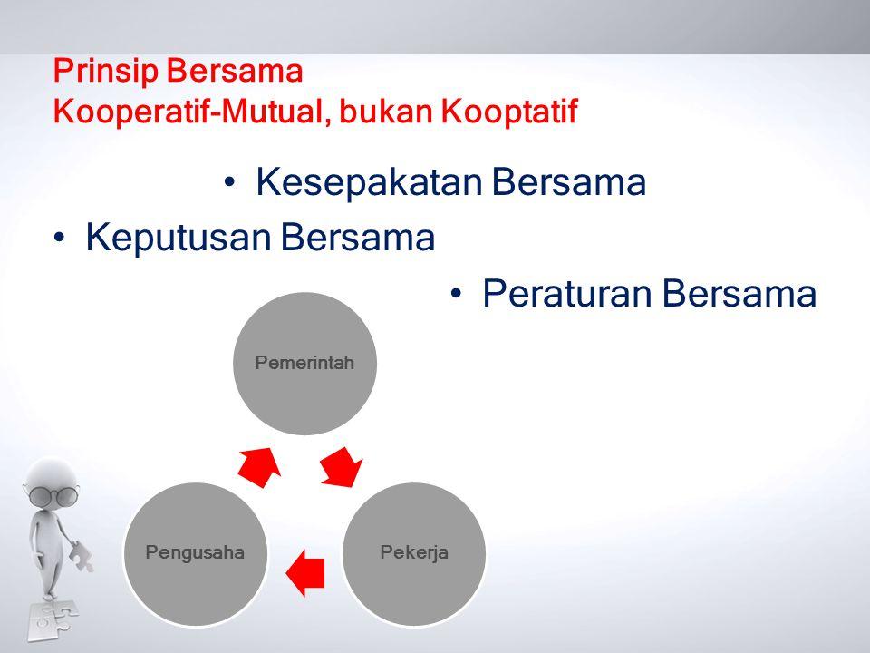 Prinsip Bersama Kooperatif-Mutual, bukan Kooptatif