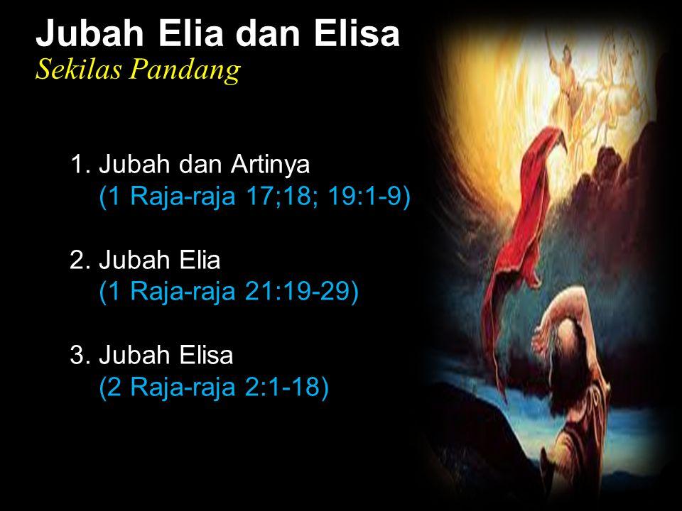 Black Jubah Elia dan Elisa Sekilas Pandang