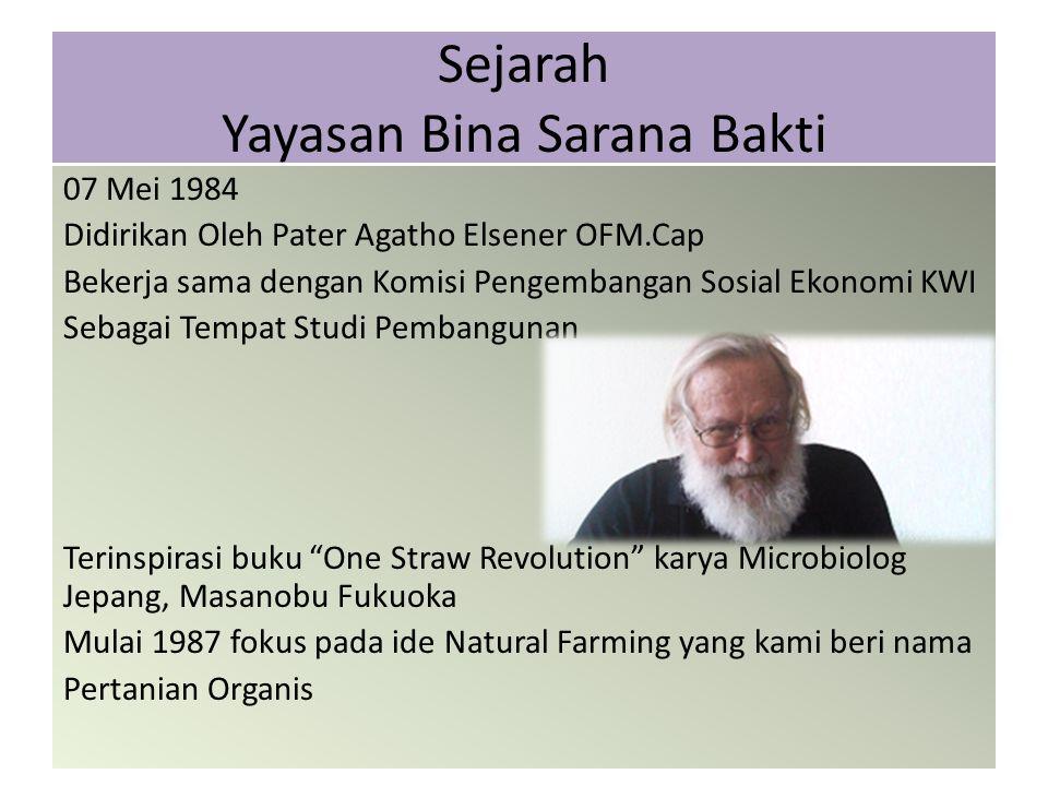 Sejarah Yayasan Bina Sarana Bakti