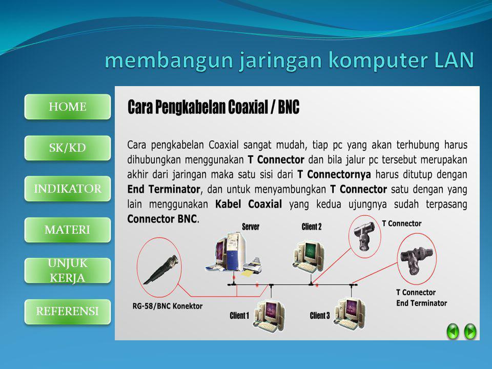 membangun jaringan komputer LAN