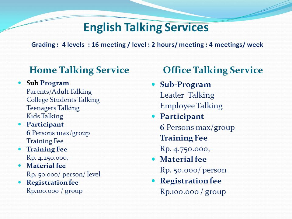 Office Talking Service