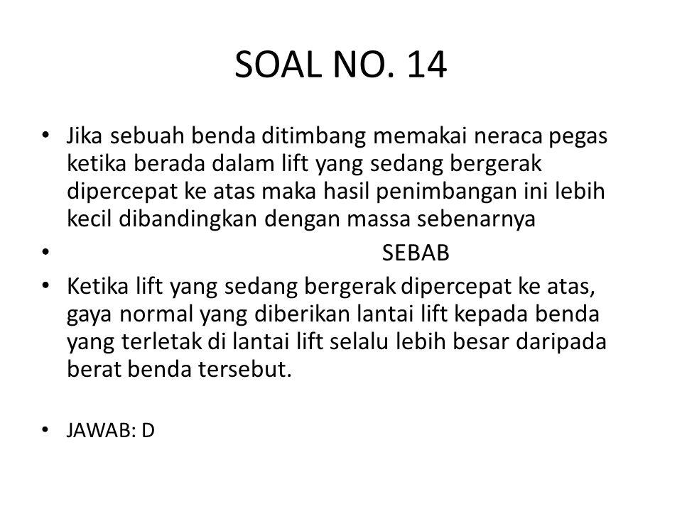 SOAL NO. 14