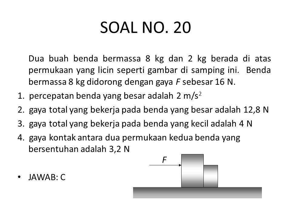SOAL NO. 20