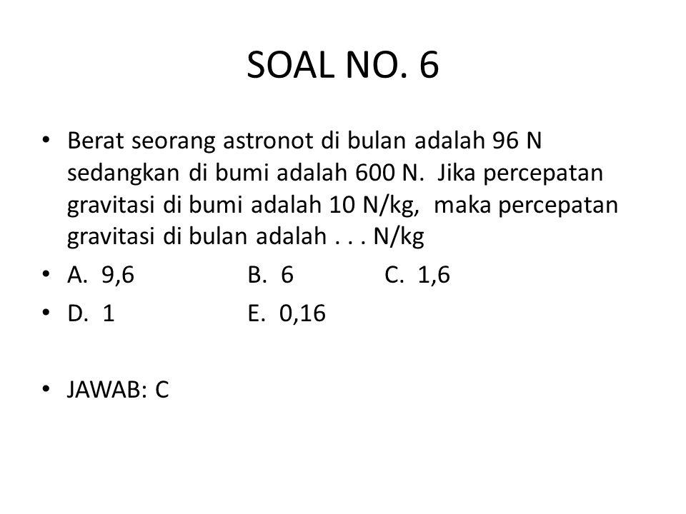SOAL NO. 6