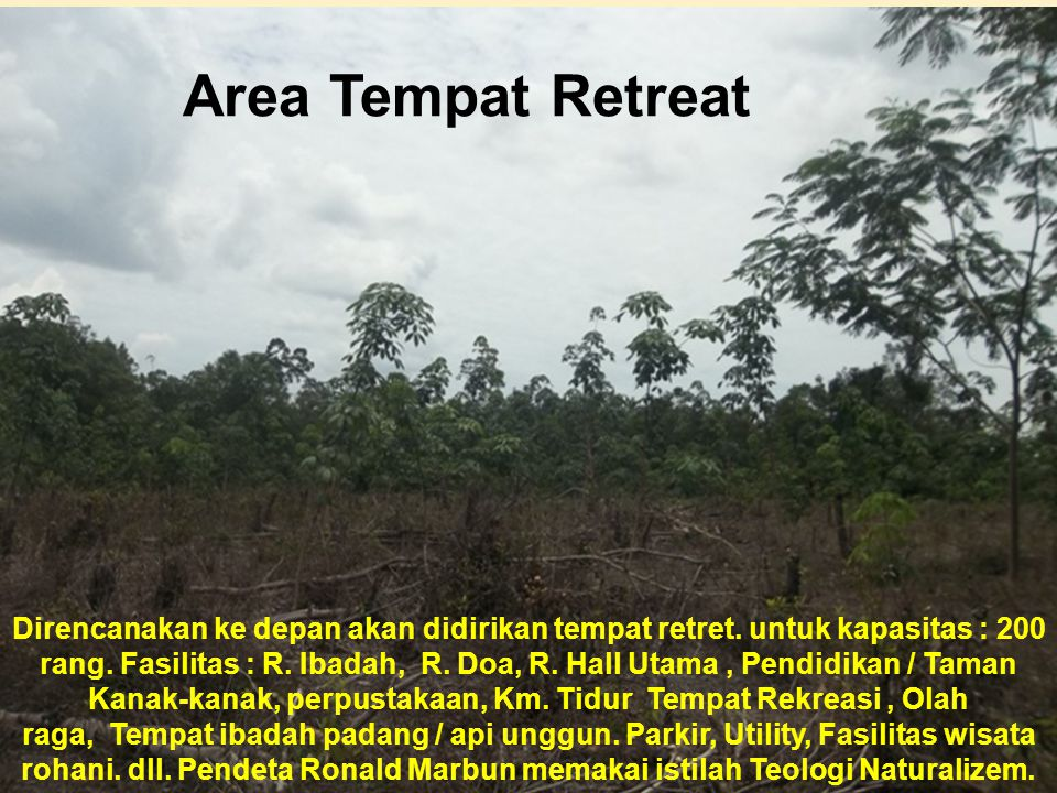 Area Tempat Retreat