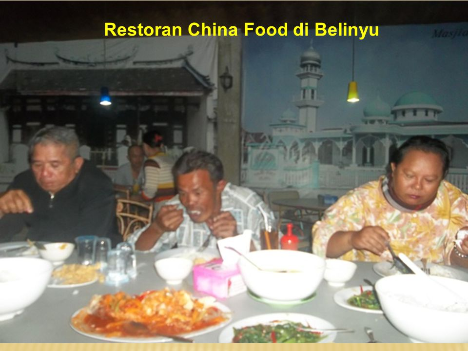 Restoran China Food di Belinyu