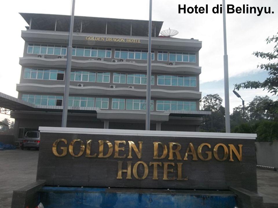 Hotel di Belinyu.