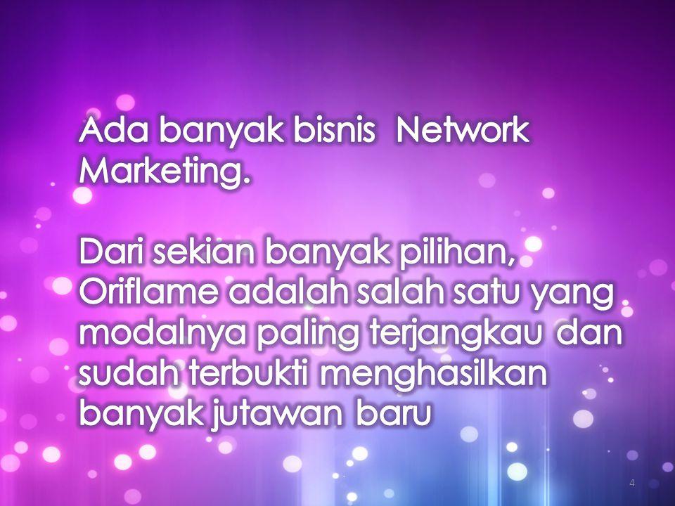Ada banyak bisnis Network Marketing