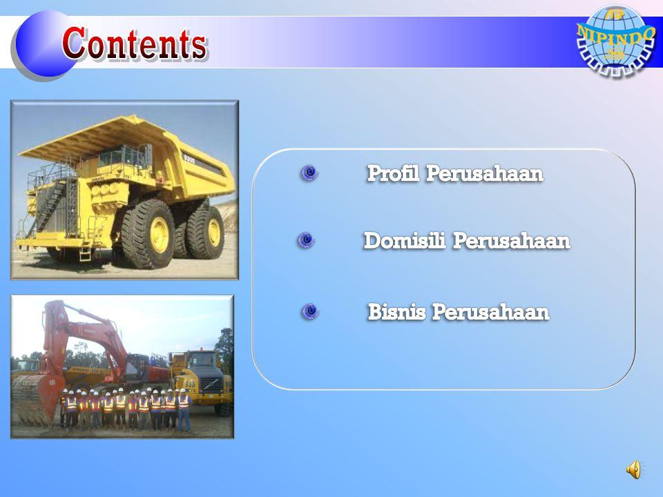 Contents Profil Perusahaan Domisili Perusahaan Bisnis Perusahaan