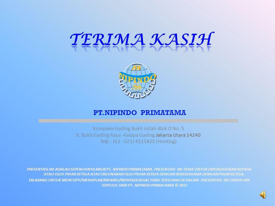 TERIMA KASIH PT.NIPINDO PRIMATAMA