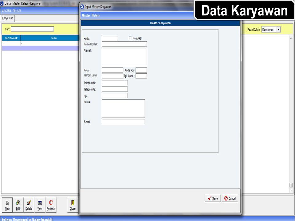 Data Karyawan