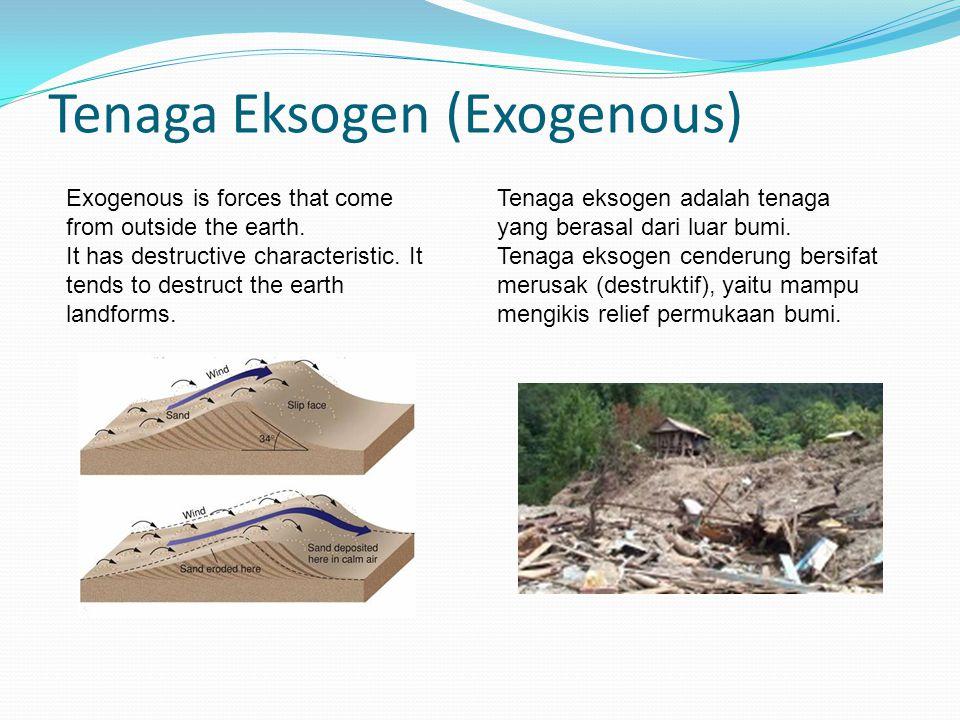 Tenaga Eksogen (Exogenous)