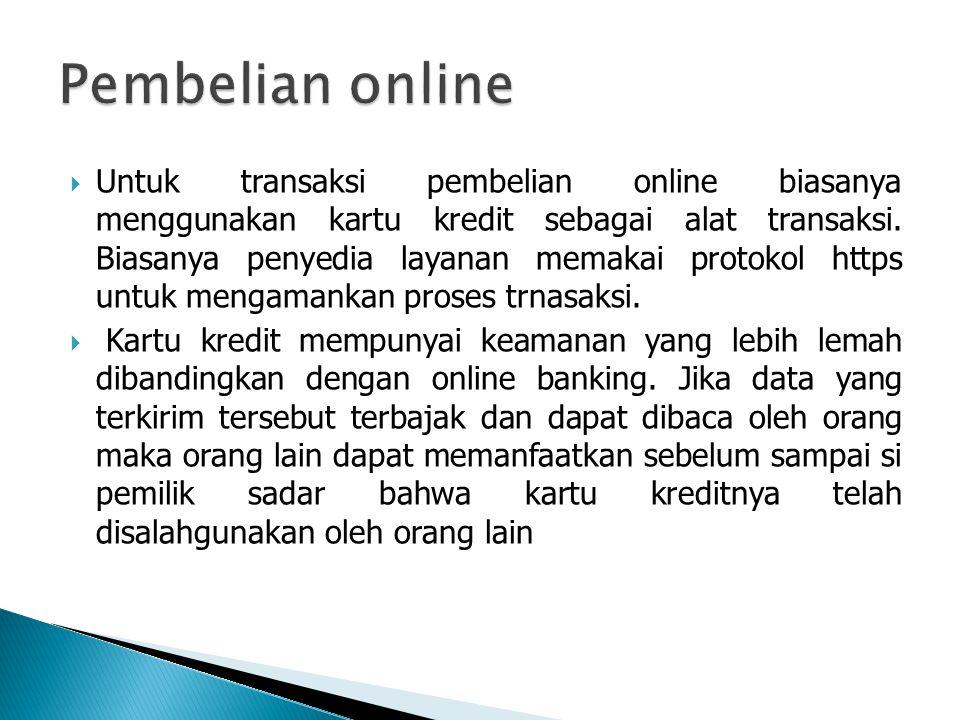 Pembelian online