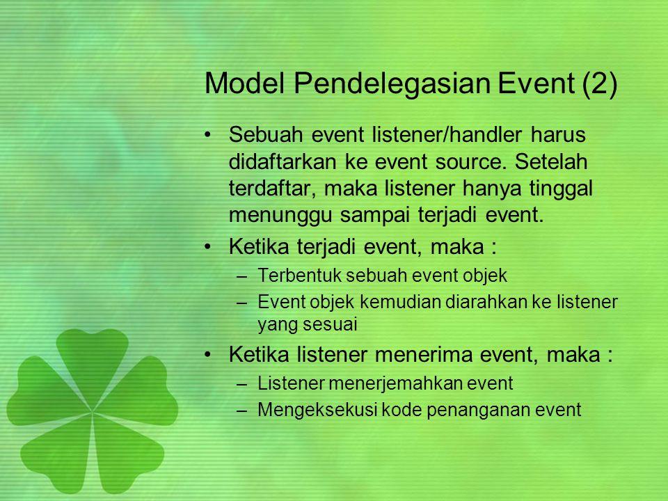 Model Pendelegasian Event (2)