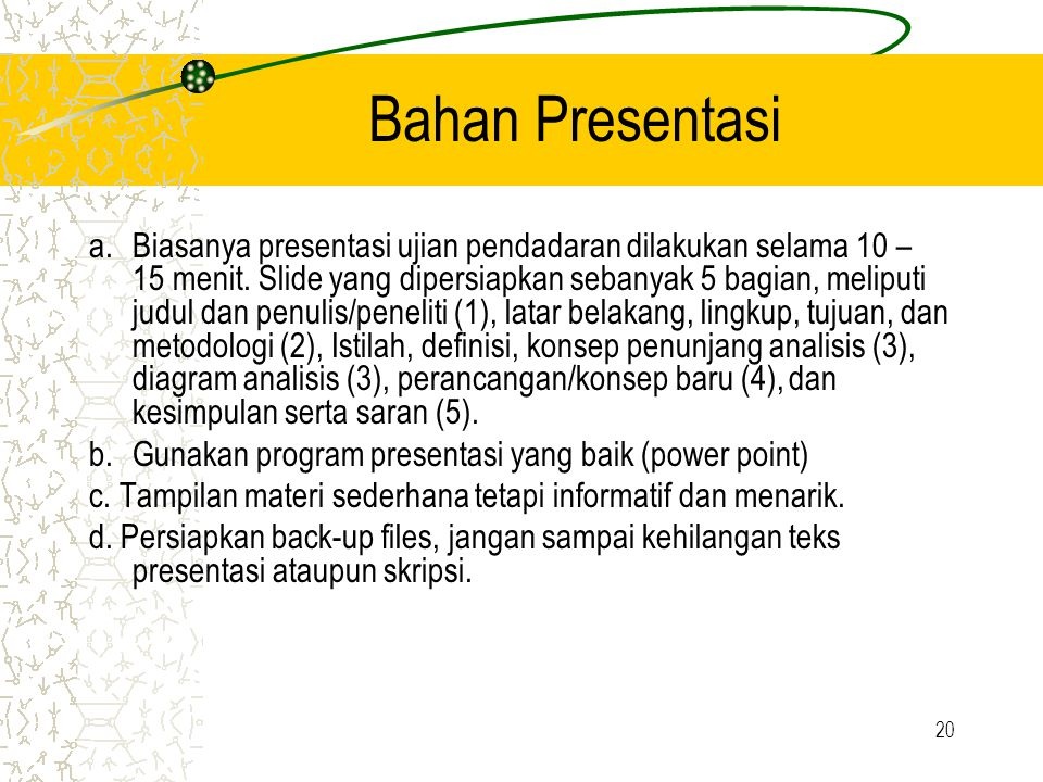 Bahan Presentasi