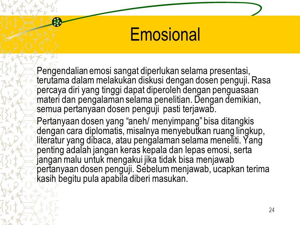 Emosional