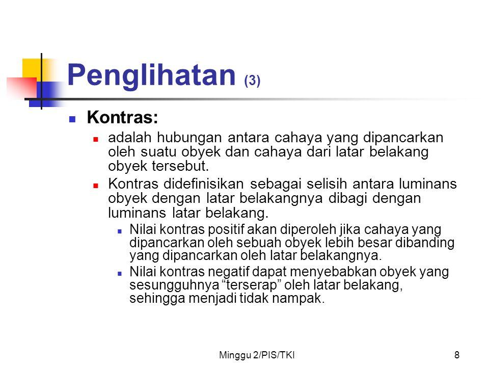 Penglihatan (3) Kontras: