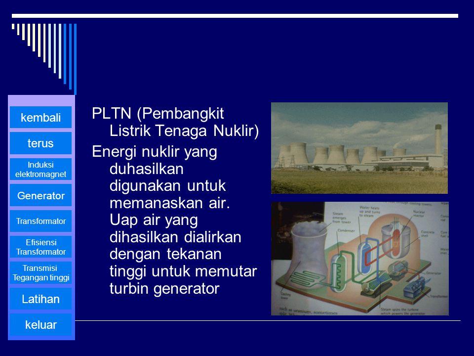 PLTN (Pembangkit Listrik Tenaga Nuklir)